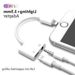 Cable For iPhone X Xs MAX 8 7 Plus Audio Charging plus Audio