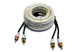 Lord of Bass Car Audio RCA Interconnect Cable 2 Channel 17 F
