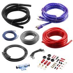 Car Audio System 4 Gauge Amplifier Installation Wiring Power