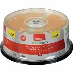 CD R Discs Blank Media 30 Count High Sensitivity Recordable