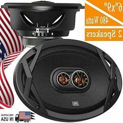 JBL CLUB 9630 6x9 3-way Coaxial Speaker System