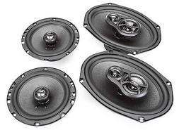 """Skar Audio 6""""x9"""" 300W 3 Way Coaxial and 6.5"""" 200W Car Audio"""