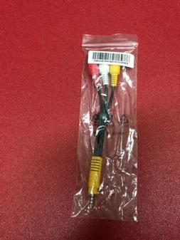 LG COMPOSITE AUDIO/VIDEO A/V 3.5mm CABLE ADAPTER EAD61273106