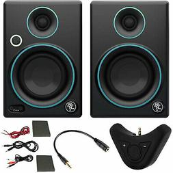 "Mackie CR3 3"" Creative Reference Monitors  Blue + Bluetooth"