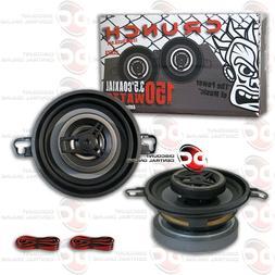 Crunch CS35CX Full Range Coaxial Car Speaker, 3-Inch