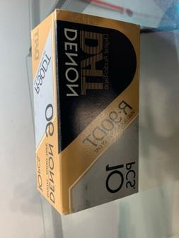 DENON DAT DIGITAL AUDIO TAPE R-90DT 10PCS