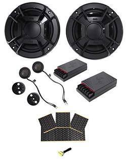 "Polk Audio DB6502 6.5"" 600 Watt Component Car/ATV/Motorcycle"