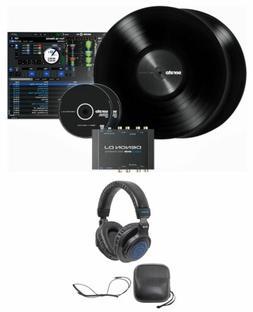 DENON DS1 24-bit Serato DJ USB DVS Vinyl Audio Interface + H