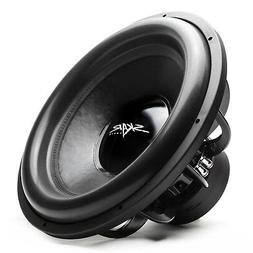 "NEW SKAR AUDIO EVL-18 D4 2500W MAX POWER 18"" DUAL 4OHM COMPE"
