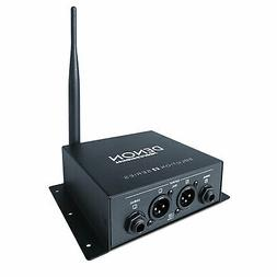 Denon Professional DN-202WR Pro Audio DJ Wireless Audio Rece