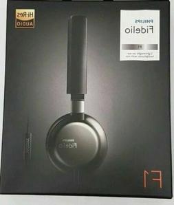 PHILIPS Fidelio Black F1/27 Headphones w/Mic @NEW@