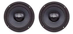NEW SKAR AUDIO FSX65-4 6.5-INCH 4 OHM 300W MAX CAR PRO AUDI