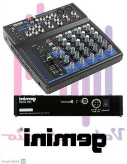 Gemini GEM-08USB 8 Channel USB Bluetooth Mixer for Podcast R