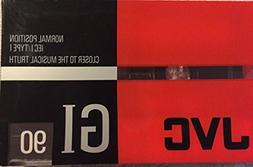 JVC GI90PB2 90 Minute Audio Tape, 2-Pack