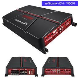 Pioneer GM-A6704 1000 Watt 4-Channel Class AB Car Audio Full