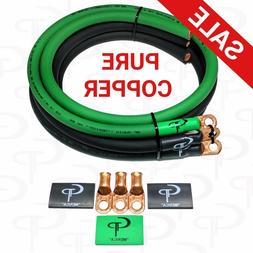 GP Car Audio Big 3 UPGRADE wiring Kit OFHC COPPER TRUE 1/0 A