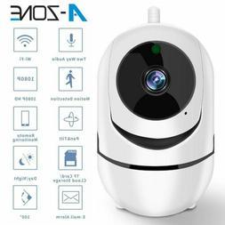 HD 1080P WIFI IP Camera CCTV Home Security 2 Way Audio Nanny