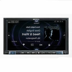 Alpine iLX-207 Mech-less Apple Car Play &roid Auto Audio/Vid