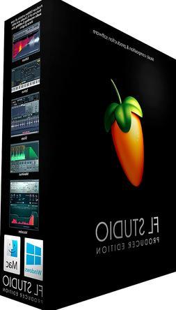 NEW FL Studio Producer 11 12 20 Edition Digital Audio Workst