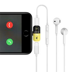 ThunderBs iPhone Charger and Headphones Lighting Adapter for