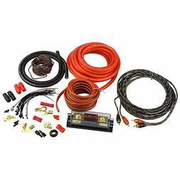 Heat Car Audio KIT4 4 Gauge Car Amplifier Amp Power Wiring I