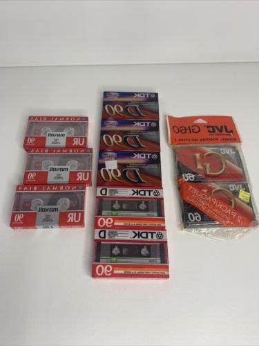 10 pack mixed lot d 90 jvc