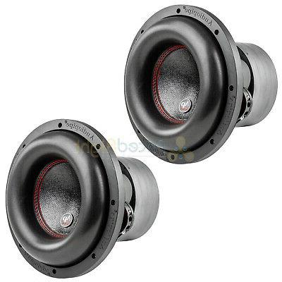 10 subwoofers dual 4 ohm 900 watts