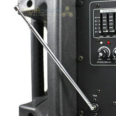 "15"" DJ Audio To Led Speaker Watts 4 Ohm DJW15"
