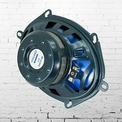"""2x Blaupunkt 6x8"""" 4-Ohm Max Power Speakers NEW"""