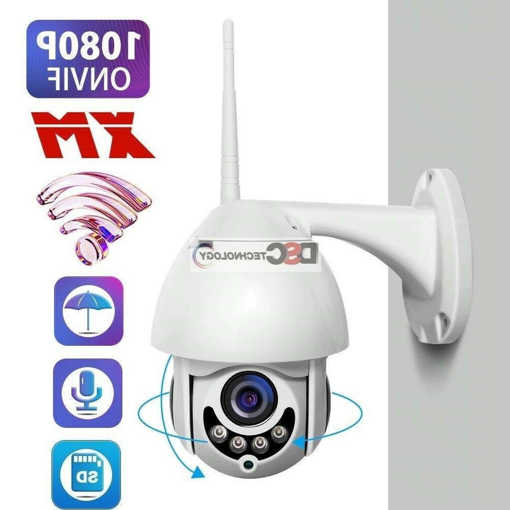 2way audio 1080p wifi ptz ir dome