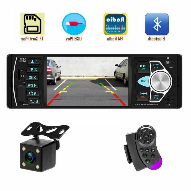 4.1 Car 1DIN AUX MP5 with