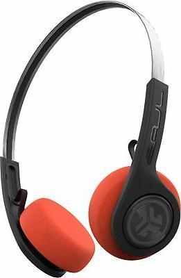 audio rewind retro wireless on ear headphones