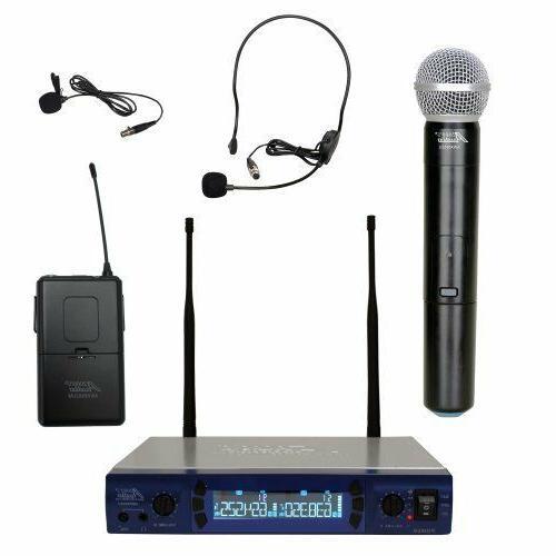 audio2000 s awm6952ulx uhf dual channel wireless