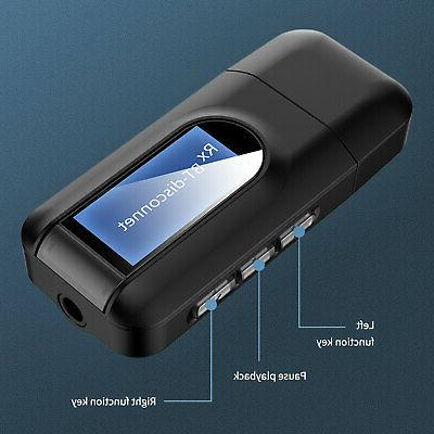 Bluetooth 4 Audio 3.5mm USB Adapter