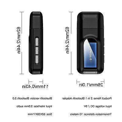 Bluetooth 5.0 Transmitter Receiver 4 IN 1 Audio