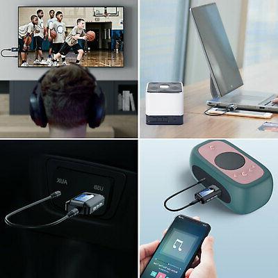 Bluetooth 5.0 4 1 Audio 3.5mm Adapter
