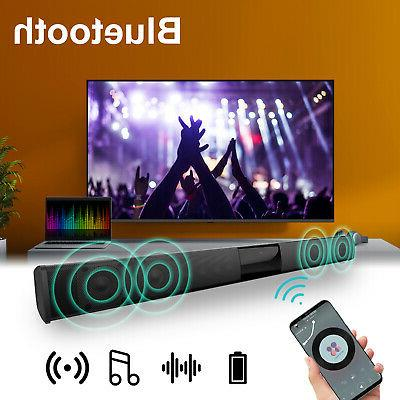 bluetooth sound bar speaker 3d mic stereo