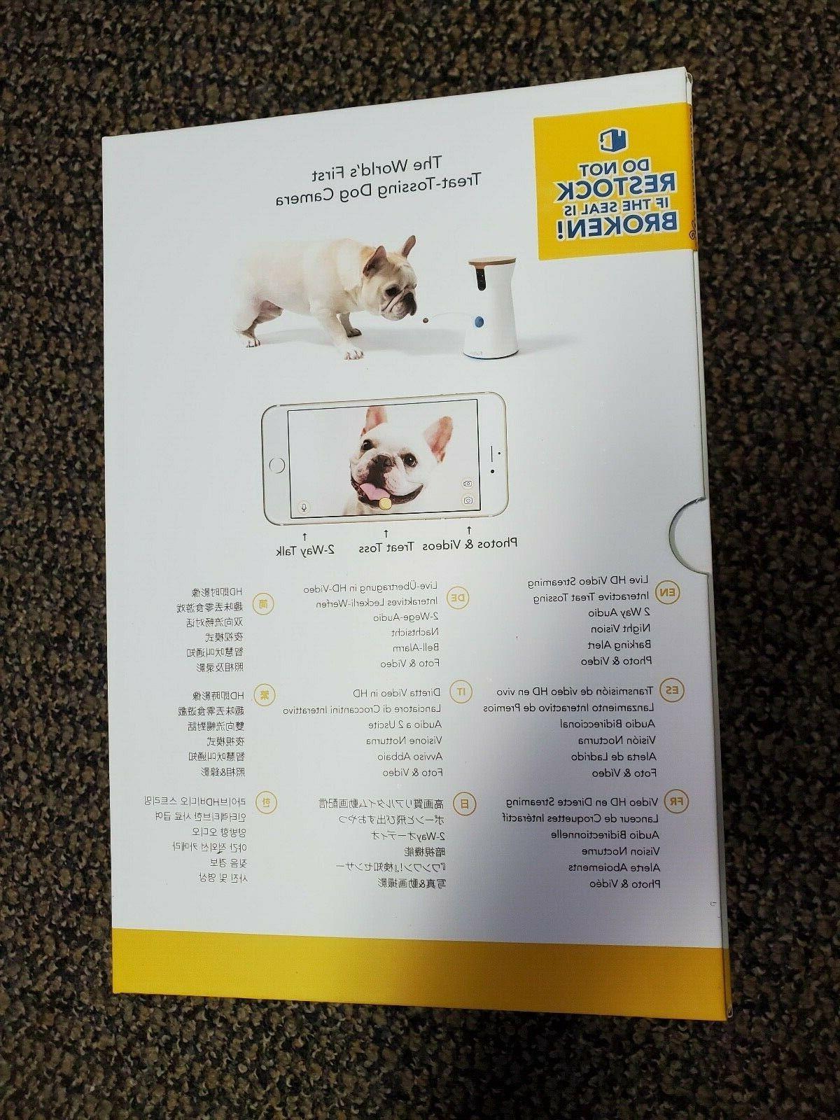 Brand Furbo Dog HD Pet Camera and Audio