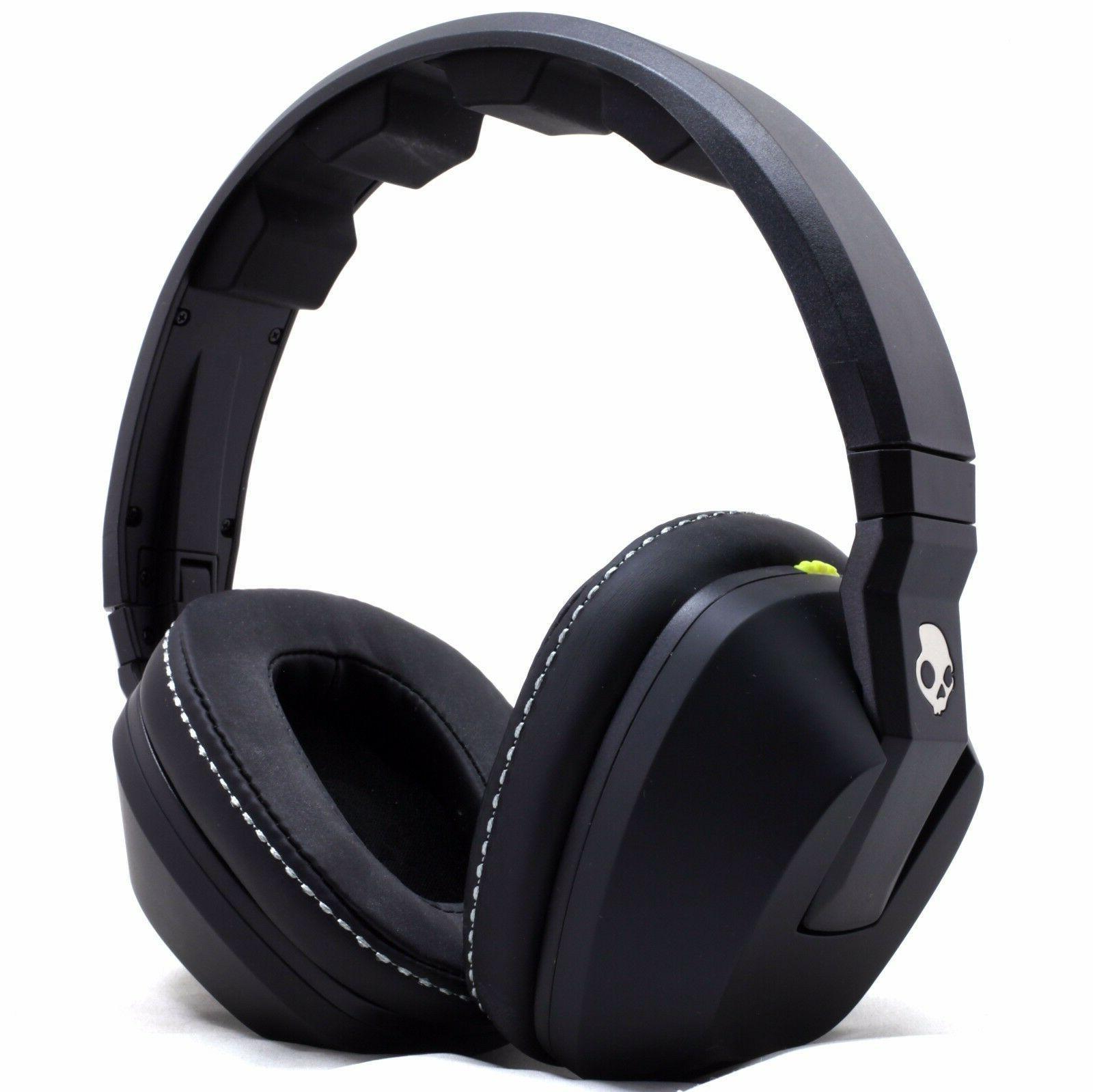 Skullcandy Stereo Headset Supreme Sound Bass Black White