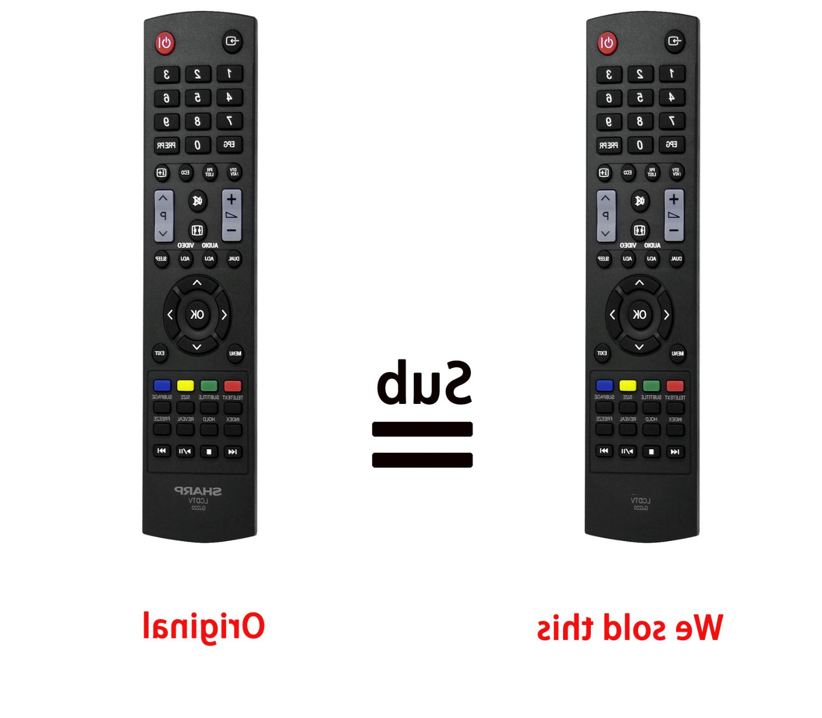 gj220 replaced remote for sharp lcd tv