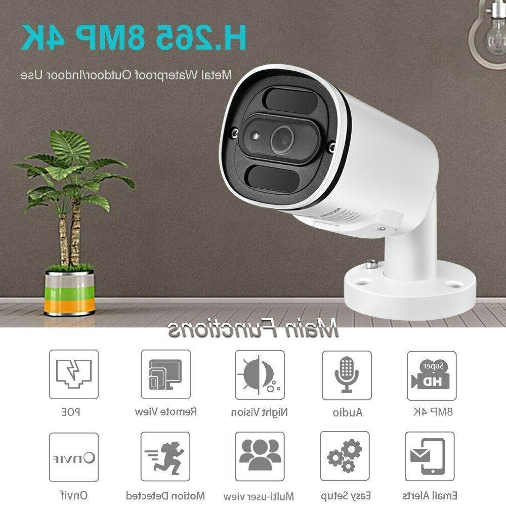 H.265+ POE IP Camera ONVIF