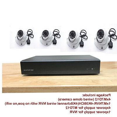 h 265 nvr 4k 8ch 8mp support