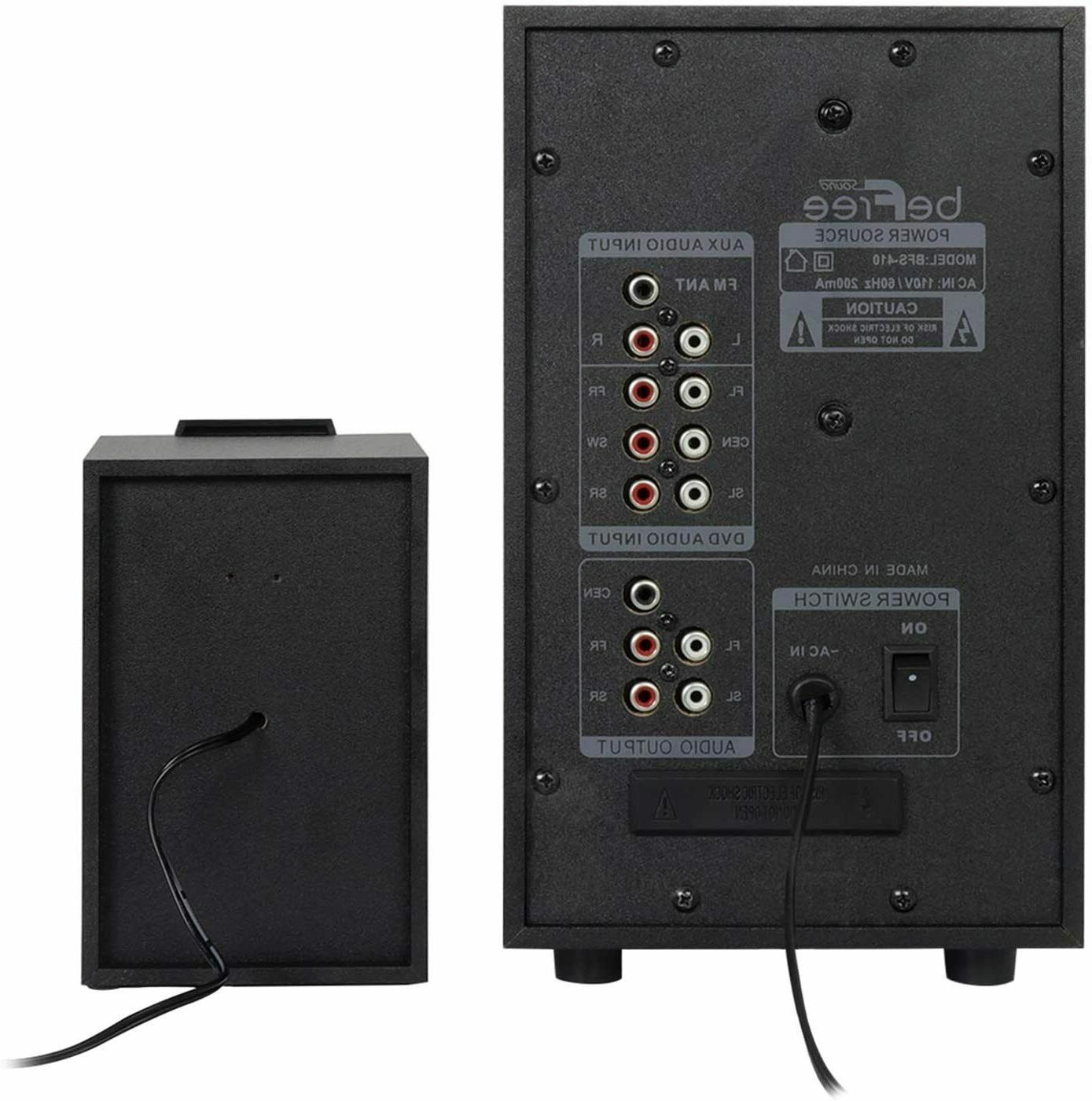 Home Theater TV Surround Sound Wireless 5.1