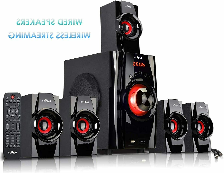 Home TV Speakers Sound Wireless 5.1
