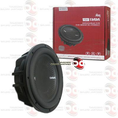 mm1 series 10 single 4 ohm car