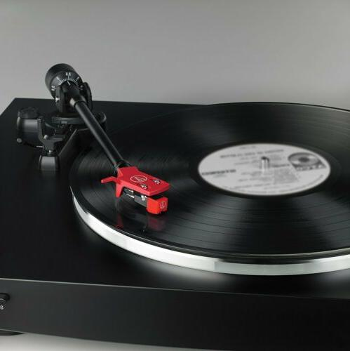 Audio-Technica AT-LP3BK Belt-Drive Stereo Turntable, Black