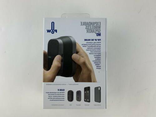 POW Mo Expandable Pocket Mobile Speaker, Mount,