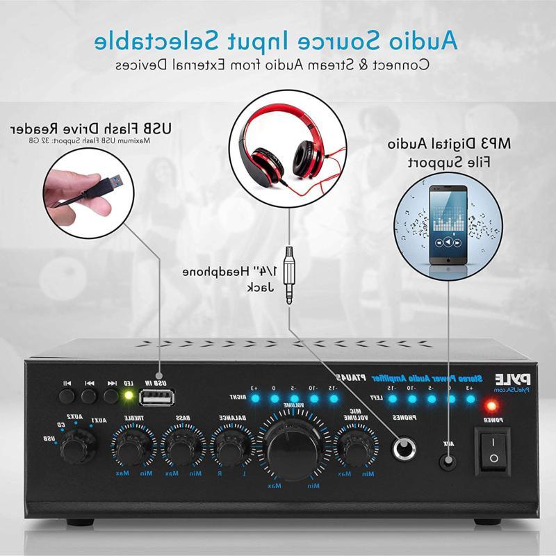 Audio Power Amplifier - Portable Channel Sound