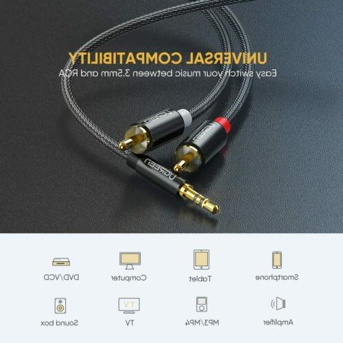Ugreen Stereo to Audio Cable For Phone TV