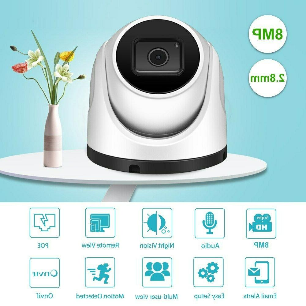 SD Slot Outdoor Dome CCTV Security POE IP